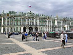 The Hermitage Museum - Leningrad. We toured the museum in 1988 - contains outstanding artwork!