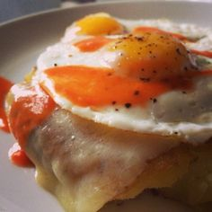 Doesn't smashed potato bomb with fried eggs sound like something you'd order off a brunch menu?