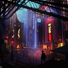 futuristic castle cyberpunk - Google Search