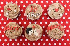 receta de cupcakes para aniversario - Buscar con Google