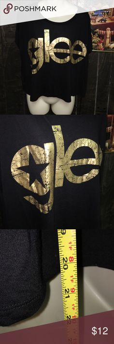 Fun Glee shirt Glee fans, here is a shirt just for you!!!  Hardly even, ready to add to your closet Tops Crop Tops