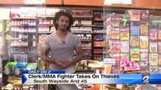 Video: Gas Station Clerk With MMA Training Surprises Thieves - A Funny Video on KillSomeTime