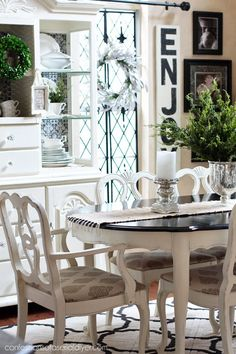 Painting Dining Room dining room ideas inspiration Dining Room Table Makeover