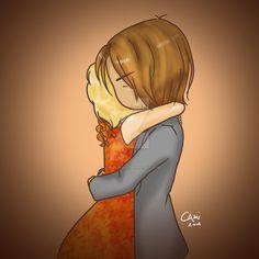 The Hunger Games: Catching Fire - Hug by akachankami.deviantart.com on @DeviantArt