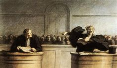 A Famous Cause - Honore Daumier