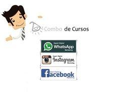 Combo de Cursos Expert Digital - Facebook, Instagram e WhatsApp - Já pensou em alavancar suas vendas com os meios sociais que mais crescem no Brasil? Aprenda Gerar Negócios no WHATSAPP, FACEBOOK e INSTAGRAM!!!