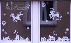 Fensterbild Weihnachten 2015