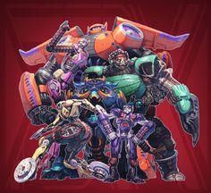 Big Hero 6 + Transformers (FSRX 34) by ZedEdge on DeviantArt