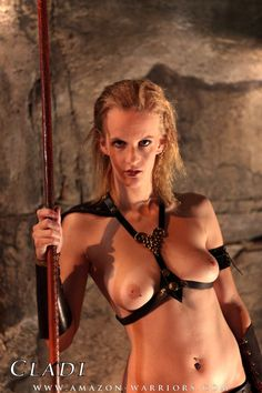 Amazon warrior nude