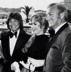 David Cassidy, Shirley Jones (stepmother), and Jack Cassidy