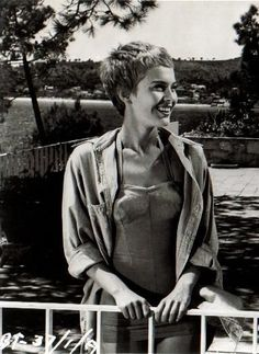 Jean Seberg, again and again.