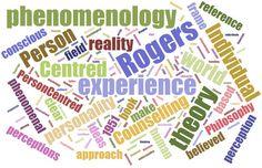 Phenomenology Person Centred Counselling