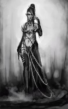 Dark Eldar by muju.deviantart.com on @DeviantArt