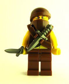 Custom LEGO Weapon of the Week - Assassin Dagger #LEGO #Minifigure #BrickWarriors #LEGOweapon #Assassin #Dagger #LEGOassassin #LEGOaccessories #MinifigureAccessories