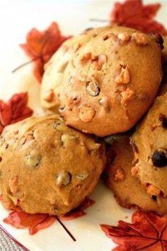 Pumpkin Chip Cookies by elise