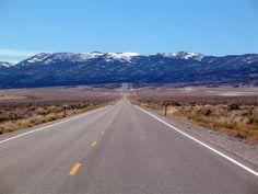 "U.S. Route 50 in Nevada aka ""The Loneliest Road in America"""