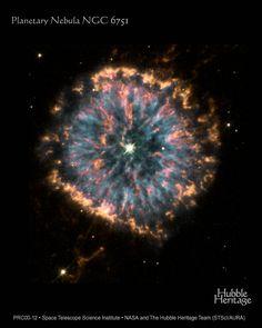 Planetary Nebula NGC 6751