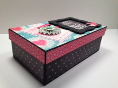 Boxed Gatefold Mini Album Pattern with Video Tutorial