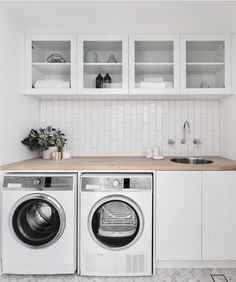 Best Laundry Room Decorating Ideas To Inspire You - Page 31 of 53 - VimDecor laundry room ideas, laundry room organization, laundry room design, laundry room decor Laundry Room Cabinets, Laundry Room Organization, Laundry In Bathroom, Basement Laundry, Laundry Closet, Laundry Storage, Diy Cabinets, Laundry Shelves, Laundry Decor