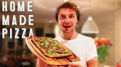Making Healthy Home Made Pizza - Marcus Butler & Niomi Smart