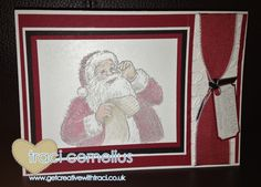 Santa's List Stamp Set by Independent Stampin Up Demonstrator Traci Cornelius  www.getcreativewithtraci.co.uk