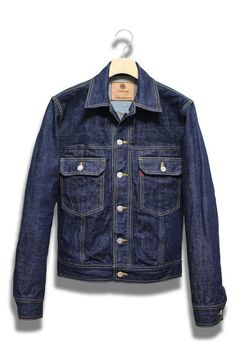 ANARCHIST DENIM PROWL JACKET (indigo one wash) | ArchiTailor
