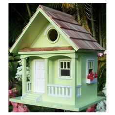 Country Cottage Birdhouse in Key Lime