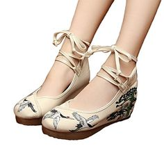 AvaCostume Womens Embroidery Rubber Sole Strappy Wedges G... http://smile.amazon.com/dp/B01D2GY87Y/ref=cm_sw_r_pi_dp_ykrkxb1VHV2EH