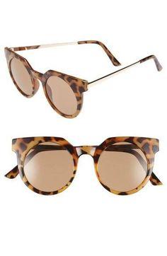 45mm Round Lens Sunglasses