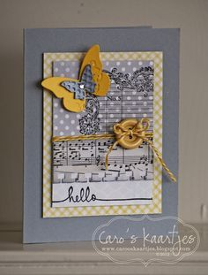 C@ro's kaartjes: A year in Cards APRIL