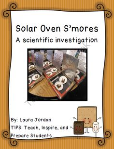 Solar Oven Investigation: Make Smores with a Pizza Box Solar Oven from ...