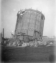 WWI, 22 Nov 1916; Ruins of the Water Tower, Ypres. ©IWM
