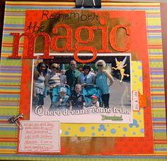 Remember the magic - Scrapjazz.com