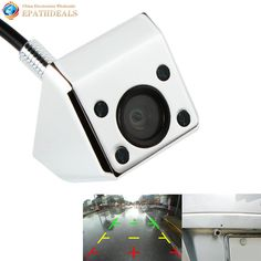 Flash Deals $11.07, Buy Waterproof Night Vision Car Rear View Camera 120 Degrees Wide Angle Lens Auto Rearview Revese Backup Camera Parking Assistance