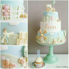 La granja completa en un pastel de Cake by Astrids Bakkerij