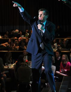 Grant Snyder raising $ from the crowd at a recent auction
