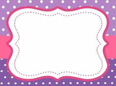 Free Invitation Templates, Invitation Design, Invitations, Boarders And Frames, Barbie Birthday Party, Spice Labels, Project Life Cards, Borders For Paper, Frame Template