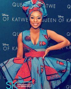 Film Premieri: Nomzamo Mbatha Katwe'nin Kraliçesi Güney Afrika Film Premiere'de