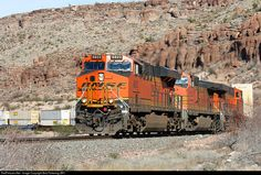 RailPictures.Net Photo: BNSF 6823 BNSF Railway GE ES44C4 at Kingman, Arizona by Bob Pickering (BP)