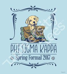 Spring formal puppy design I made by University Tees I apparel designs | custom greek apparel | sorority t-shirts | sorority shirt designs I greek t-shirts I t-shirt designs I sorority designs I date party designs I social designs [Promotional Pin]