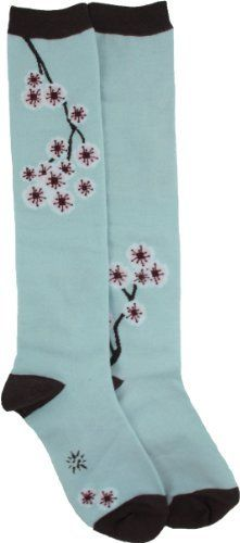 Sock It To Me Cherry Blossom Light Blue Knee High Socks, http://www.amazon.com/dp/B003ENG02M/ref=cm_sw_r_pi_awdl_sXu2ub04D50PY