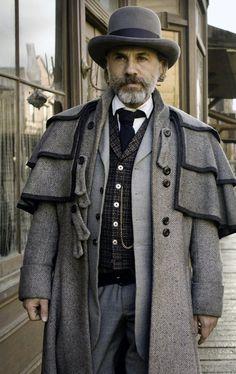 Django Unchained Inverness Coat