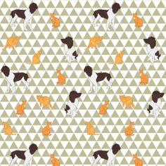 Motiflow Web Origami Animals, Dog Cat, Goodies, Quilts, Fabric, Pattern, Sweet Like Candy, Tejido, Tela