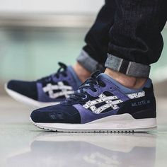 07f835860501e The Asics Gel Lyte 3 is rendered in a new colorway of Indian Ink for this  season. Find it now at Asics stores overseas first.