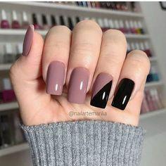 Chic Nails, Stylish Nails, Trendy Nails, Nail Manicure, Toe Nails, Girls Nail Designs, Nail Salon Design, Nagellack Design, Nail Designer