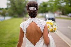 My wedding hair. Jamie and Karina did a great job!