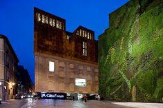 Herzog & de Meuron's Caixa Forum, Madrid. By Iwan Baan