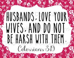 Bible Verse Scripture for Marriage / Love / Wedding