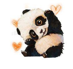 38 Ideas For Wall Paper Cute Panda Animals Cute Panda Drawing, Cute Animal Drawings, Kawaii Drawings, Cute Drawings, Niedlicher Panda, Panda Art, Panda Wallpapers, Cute Cartoon Wallpapers, Panda Mignon