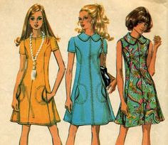 Items similar to off Sale Princess Dress Sewing Pattern In 3 Versions McCalls 2545 Size 10 Bust 32 Complete on Etsy Robes Vintage, Vintage Outfits, Vintage Clothing, Vintage Girls, Vintage Sewing, Shirt Hacks, 50 Off Sale, Retro Pattern, Sewing Patterns